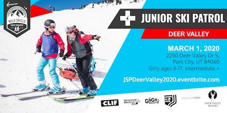 WILD SKILLS Junior Ski Patrol: Deer Valley tickets