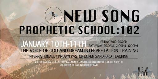 New Song Prophetic School: 102