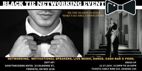 BLACK TIE NETWORKING EVENT tickets