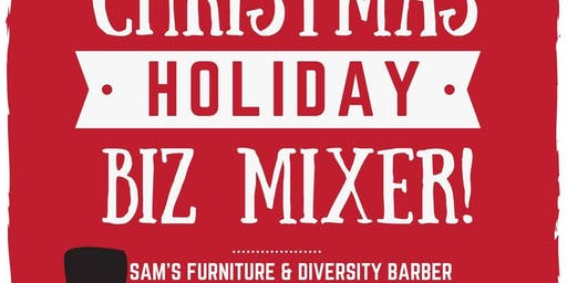 Christmas Holiday Biz Mixer