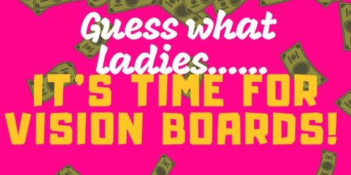 Girl Boss Vision Board Party