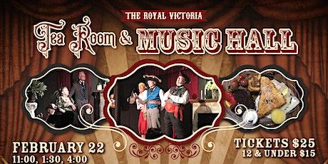 Royal Victoria Tea Room & Music Hall tickets