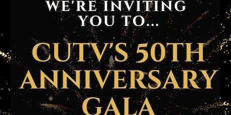 CUTV 50th Anniversary Gala tickets