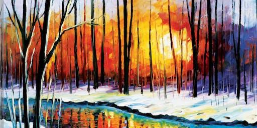Oil Painting Class - Winter Wonderland