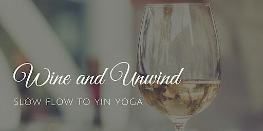 Wine & Unwind: Slow Flow To Yin Yoga W/Melissa Sebes