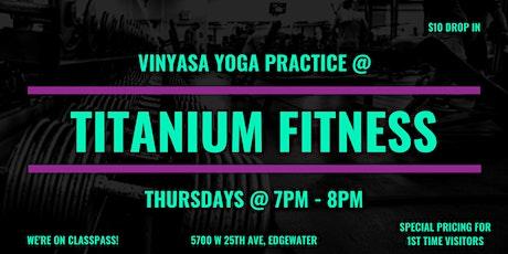 Vinyasa Yoga Practice tickets