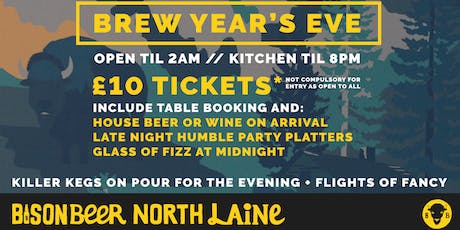 Brew Year's Eve tickets