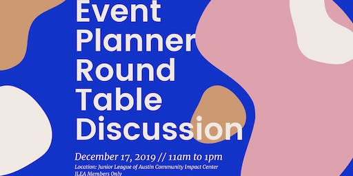 Event Planner Round Table Discussion