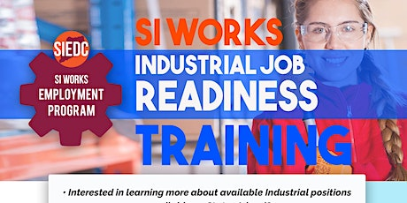 SI Works Industrial Job Readiness Training tickets