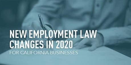 Lunch & Learn: Employment Law Changes in 2020 tickets
