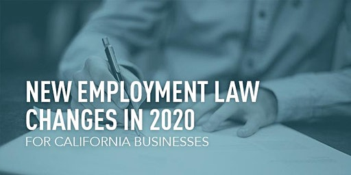 Lunch & Learn: Employment Law Changes in 2020