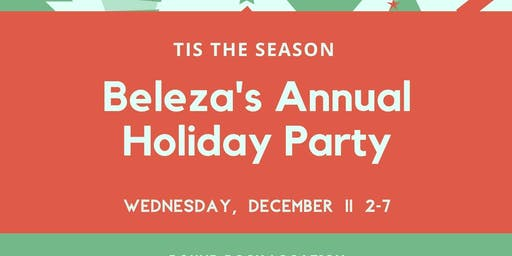 Beleza's Annual Holiday Party