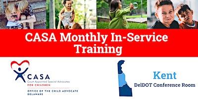 2020 Kent County CASA In-Service Trainings
