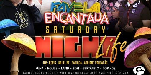 FAVELA ENCANTADA NIGHT LIFE @ Candibar | Guestlist (Must Submit RSVP)