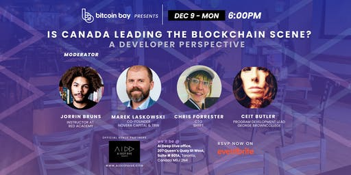 """""""Is Canada behind in to the blockchain space 