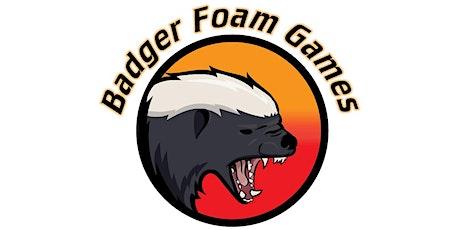 Badger Foam Games Indoor War tickets