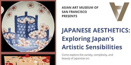 Asian Art Museum presents Japanese Aesthetics tickets