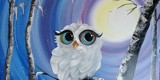 An Evening w/Paintergirl~ Snowy The Owl~ Paints & Pints