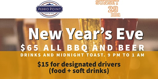 New Year's Eve Bash With Beer and BBQ included!