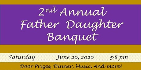 Father Daughter Banquet 2020 tickets