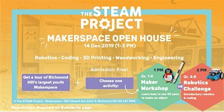 Makerspace Open House tickets