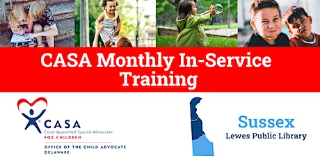 2020 Sussex County CASA In-Service Training tickets