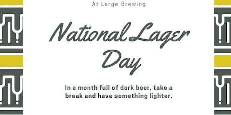 National Lager Day tickets