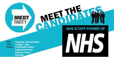 NHS Staff Power Up - Make politicians understand tickets