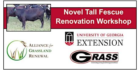 Georgia Novel Tall Fescue Renovation Workshop tickets