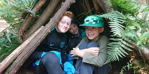 Family Bushcraft - fire lighting & shelter building