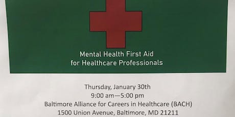 Mental Health First Aid for Healthcare Professionals tickets