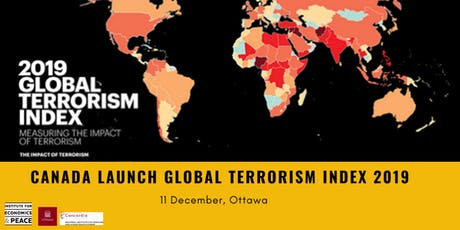 Canada Launch of the Global Terrorism Index tickets