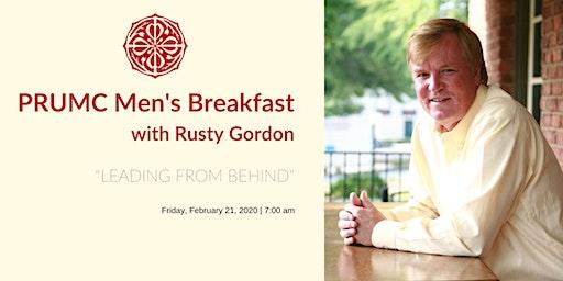 Men's Breakfast with Rusty Gordon