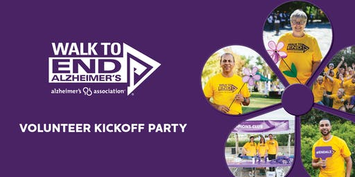Walk To End Alzheimer's--Syracuse, NY Volunteer Kickoff Party