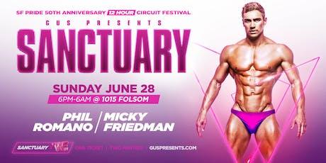 SANCTUARY | SF PRIDE  SUNDAY CIRCUIT FESTIVAL tickets