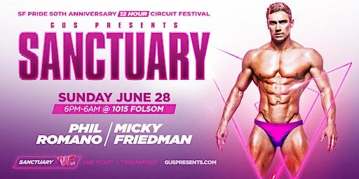 SANCTUARY | SF PRIDE  SUNDAY CIRCUIT FESTIVAL