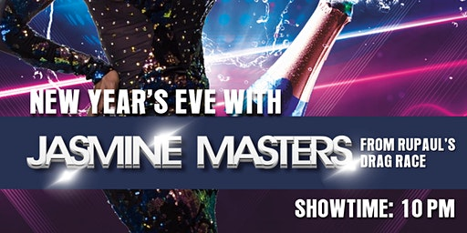 NYE 2020 featuring Jasmine Masters at Hamburger Mary's Clearwater!