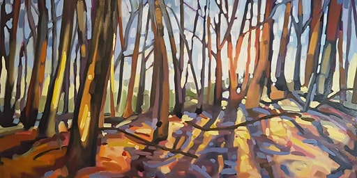 1 Day Paint a Forest Scene with Michelle Reid