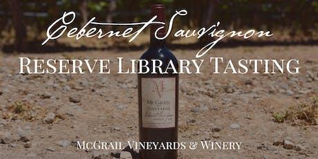 McGrail Cabernet Sauvignon Reserve Library Tasting tickets