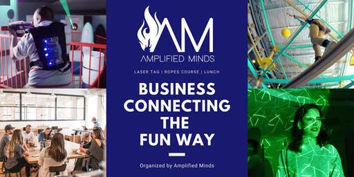 Connecting Businesses: Laser Tag & Lunch