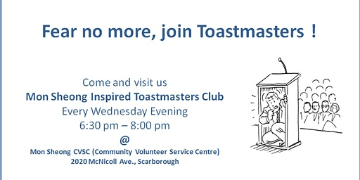 Mon Sheong Inspired Toastmasters Club Meeting
