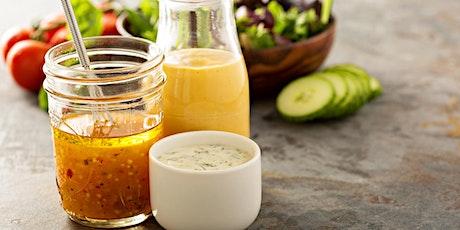 DIY Healthy Salad Dressing tickets