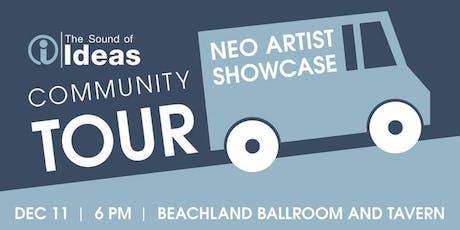 The Sound of Ideas Community Tour: NEO Artist Showcase tickets