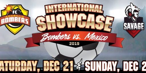 INTERNATIONAL SHOWCASE - Amarillo vs Mexico - PRO SOCCER in HEREFORD