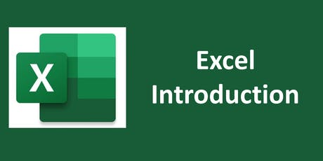 Excel Introduction Virtual Training tickets