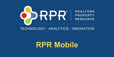 RPR Mobile for Smartphones: Big Data, Powerful Reports - Anywhere, Anytime tickets