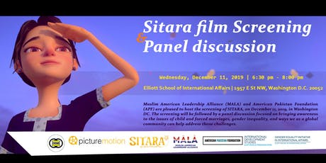 SITARA - Film Screening and Panel Discussion tickets