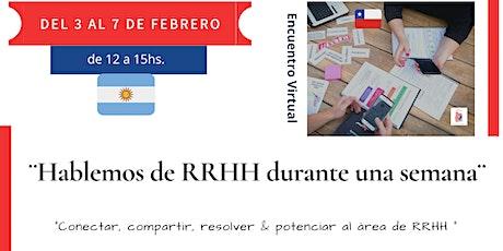 Hablemos de RRHH durante una semana entradas