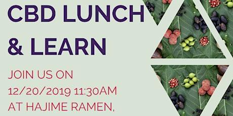 CBD Lunch and Learn at Hajime Ramen tickets