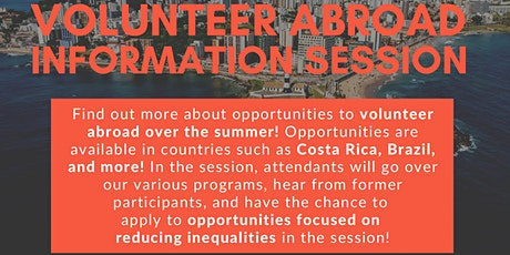 Volunteer Abroad to Empower Communities and Reduce Inequalities: AIESEC x CEW+ tickets